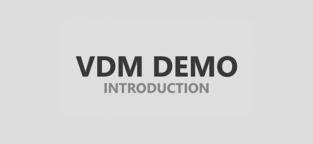 VDM Demo